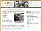 sea shell communications website